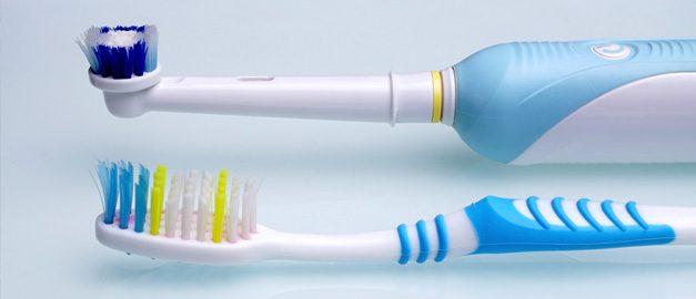 cepillo dental eléctrico vs manual
