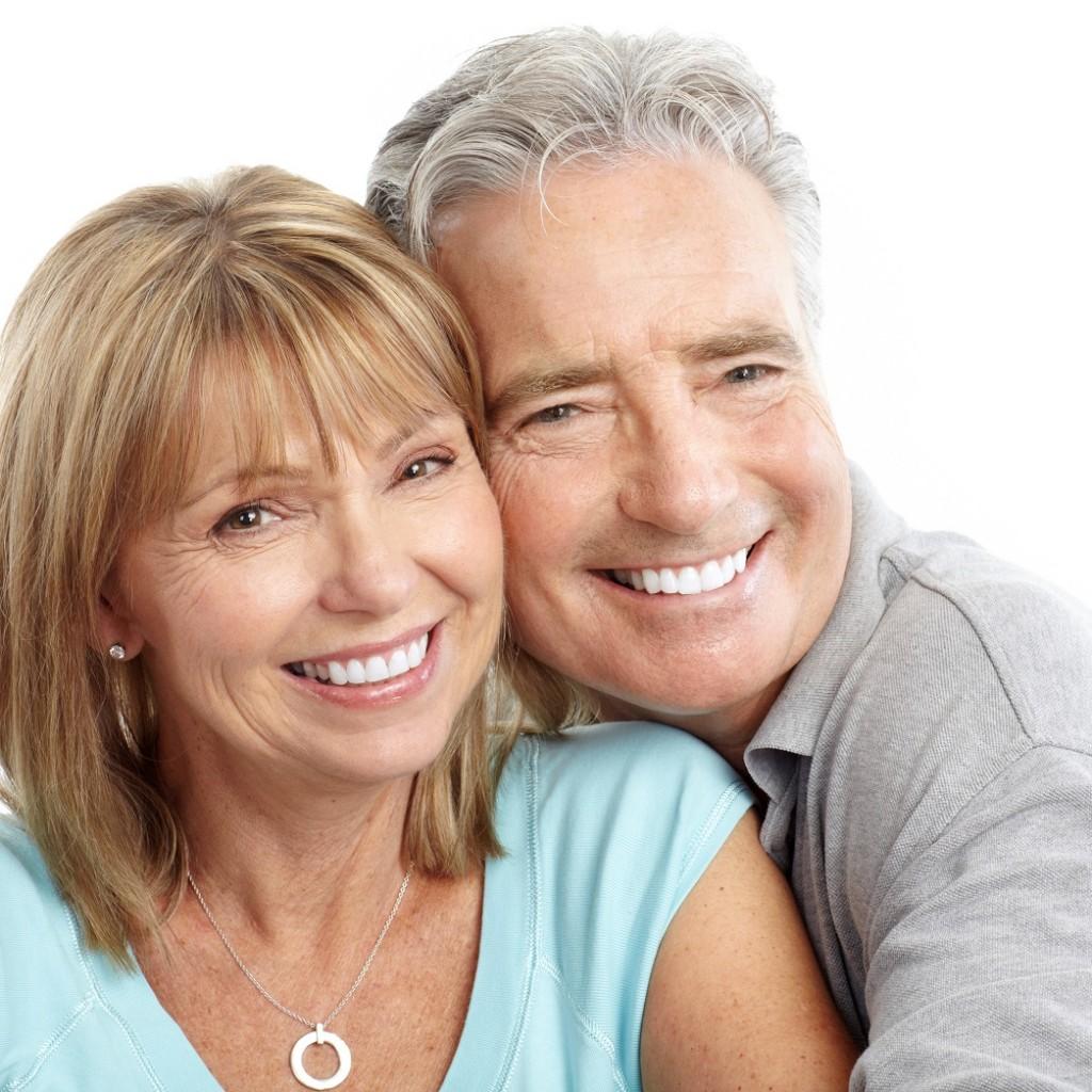 Implantes dentales.