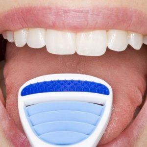 limpiar la lengua