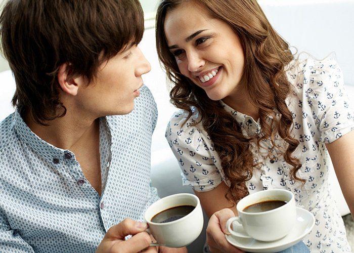 el café y los dientes
